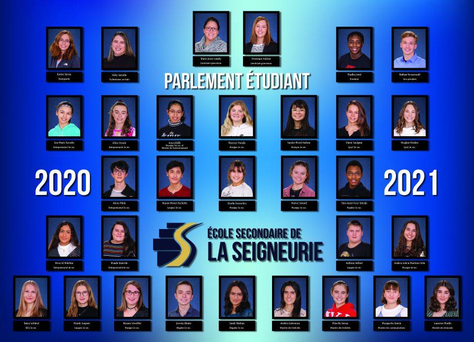 PARLEMENT EìTUDIANT 2020-2021